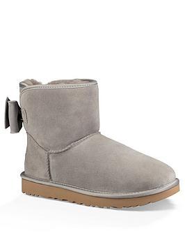 Ugg Satin Bow Mini Boot