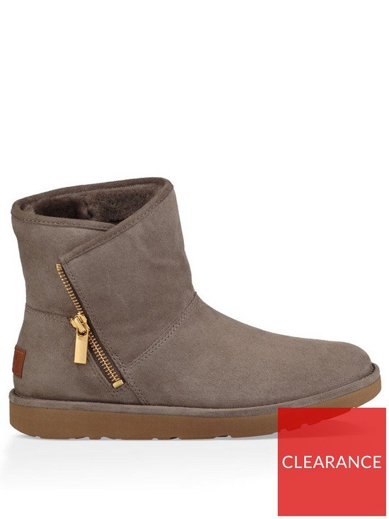 Ugg Kip Side Zipsuede Ankle Boot Verycouk