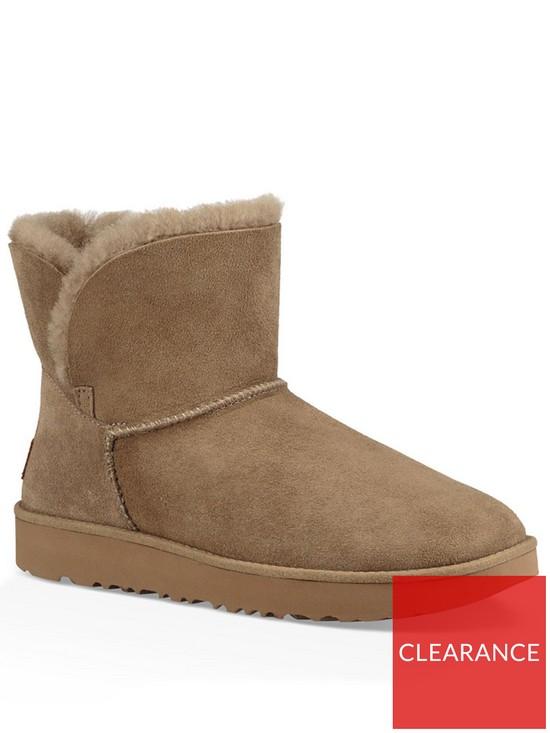872f0361d33 Classic Cuff Mini Ankle Boot - Antilope