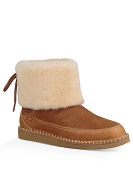 Ugg Quinlin Fluff Boot - Chestnut