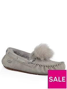ugg-dakota-pom-pom-moccasin-slipper