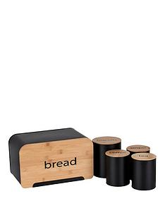 ideal-home-5-piece-bamboo-storage-set-bread-bin-teacoffeesugar-canisters-amp-biscuit-tin
