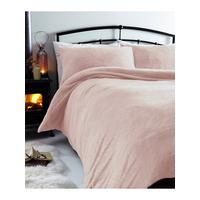 silentnight teddy bear fleece duvet cover set. Black Bedroom Furniture Sets. Home Design Ideas