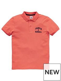 franklin-marshall-boys-logo-polo