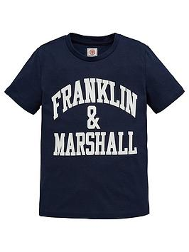 franklin-marshall-boys-logo-short-sleeve-t-shirt