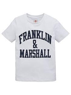 franklin-marshall-boys-logo-short-sleeve-t-shirt