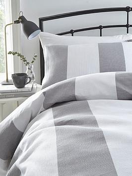 silentnight-wide-waffle-stripe-duvet-set-sb