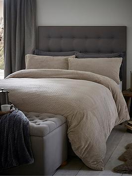 silentnight-soft-touch-waffle-fleece-duvet-set