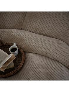 silentnight-soft-touch-waffle-fleece-duvet-cover-set