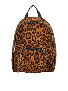 33e9e93b8afc V by Very Older Girls Backpack - Leopard Print