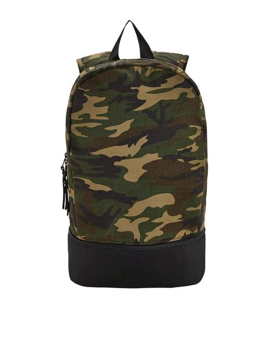 ea14497ceb V by Very Older Boys Colour Block Backpack - Camouflage