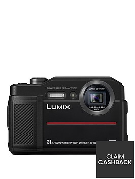 panasonic-lumix-dc--ft7-in-black-204mp-water-shock-dust-amp-freeze-proof-4k-wifi