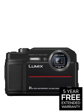 panasonic-lumix-dc--ft7-in-black-204mp-water-shock-dust-amp-freeze-proof-4k-wifi