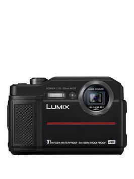 Panasonic Lumix Dc-Ft7Eb-K Waterproof Camera - Black