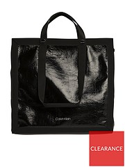 e9014fee2129 Calvin Klein Calvin Klein Outline Market Shopper Tote Bag