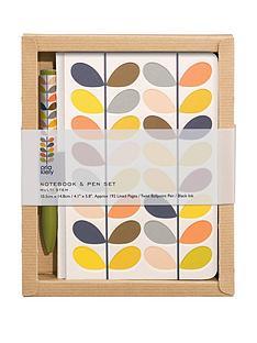 orla-kiely-pocket-notebook-and-pen-set-multi-stem