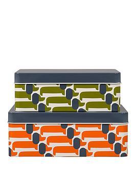 orla-kiely-storage-tins-set-of-2-dachshund