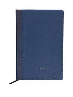 ted-baker-a5-notebook-blue-brogue-monkian