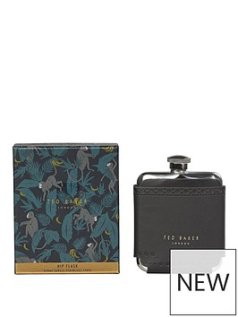 ted-baker-hip-flask-black-brogue-monkian