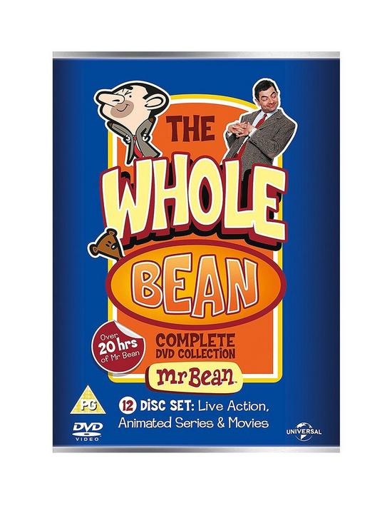 Mr Bean Whole Bean Collection Dvd Verycouk