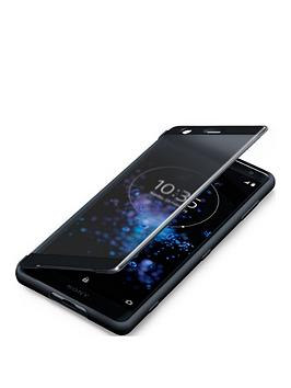 sony-sony-original-touch-style-cover-protective-case-for-xperia-xz2-black