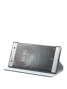 sony-sony-original-ultra-style-stand-protective-cover-for-xperia-xa2--silver