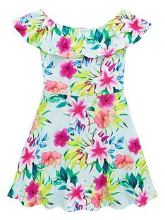 v-by-very-girls-mint-floral-bardot-dress