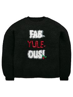 mini-v-by-very-girls-fab-yule-ous-sequin-christmas-jumper-black