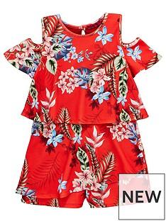 v-by-very-girls-cold-shoulder-floral-playsuit