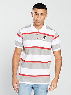 liverpool-fc-liverpool-fcnbspyarn-dyed-striped-polo-whitered