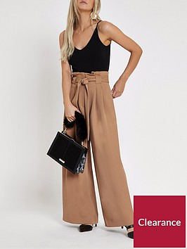 ri-petite-ri-petite-wide-leg-trousers--nbspbrown