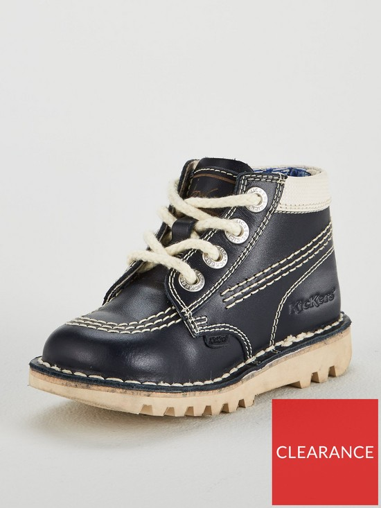fd079c4ef5 Kickers Boys Kick Hi Boot - Navy
