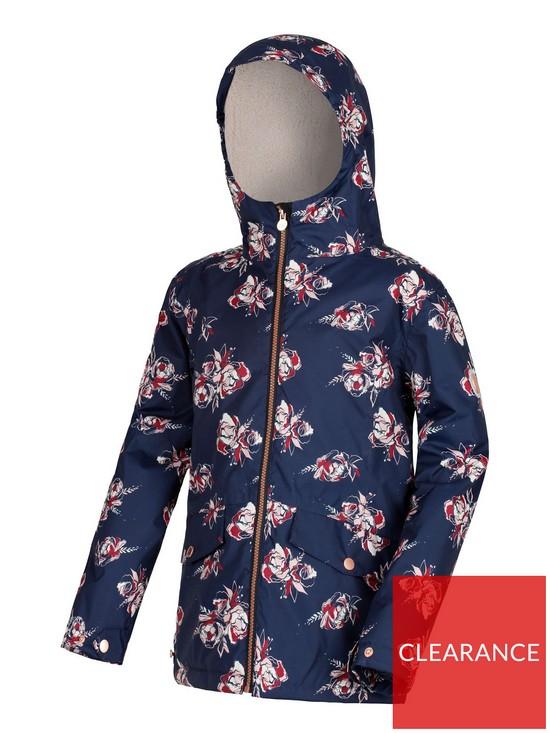 9bf54cd07 Girls Berezie Jacket - Navy/Floral
