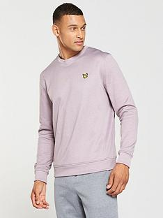 lyle-scott-fitness-sport-braid-crew-neck-sweat