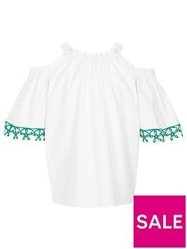 river-island-girls-white-crochet-trim-cold-shoulder-top