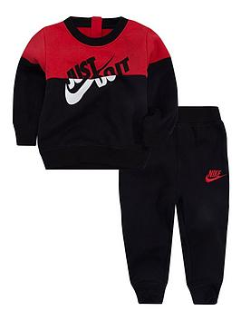 nike-baby-boys-nsw-split-jdi-set-blackrednbsp