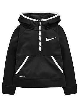 nike-younger-boys-therma-half-zip-hoodie-black