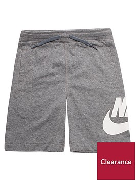 nike-younger-boys-alumni-shorts-grey