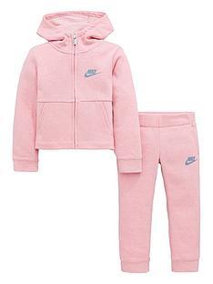 nike-sportswear-younger-girls-fleece-pant-set-pinknbsp