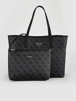 guess-vikky-black-logo-large-tote-bag