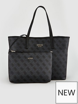 guess-vikky-black-logo-large-tote-bag