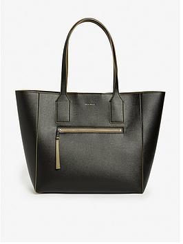 Jack Wills Jack Wills Rothlay Black Shopper Tote Bag