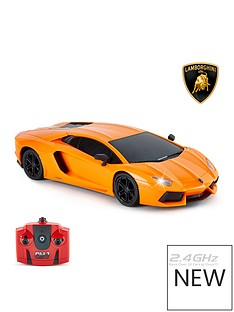 124-scalelamborghini-aventador-lp-700-4-orange-24ghz-remote-control-car