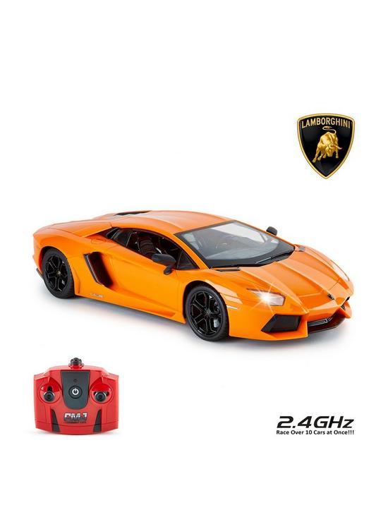 1 14 Lamborghini Aventador Orange Remote Control Car Very Co Uk