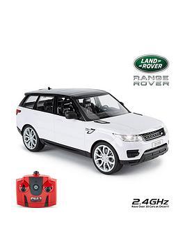 Compare prices for 1:14 Range Rover Sport White Remote Control Car
