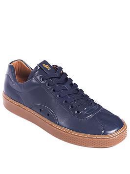 Polo Ralph Lauren Court 100 Lux Sneaker, Newport Navy, Size 6, Men thumbnail