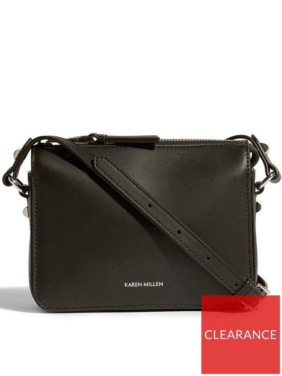1bb856df78 KAREN MILLEN Compact Cross-Body Bag - Black | very.co.uk
