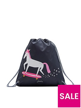joules-glow-in-the-dark-unicorn-drawstring-bag-navy