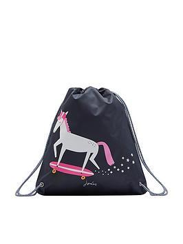 joules-glow-in-the-dark-unicorn-drawstring-bag
