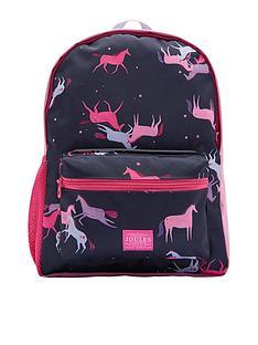 joules-girls-unicorn-printed-backpack